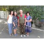 Співробітники музею з Геннадієм Ушаковим